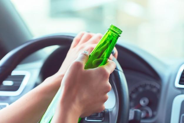 Driver femminile pericoloso