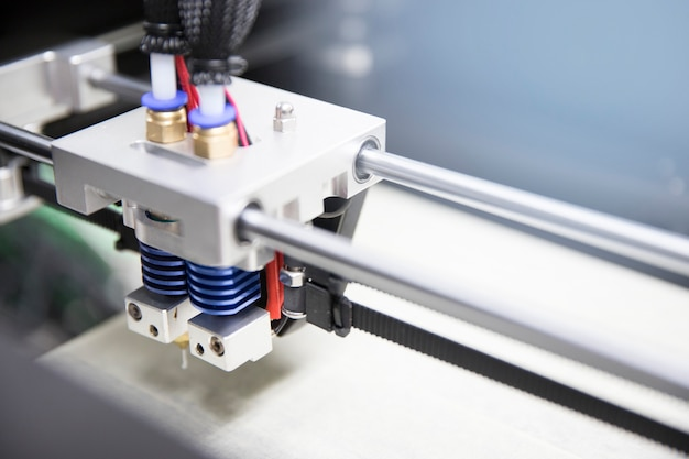 Dual injector della stampante 3d