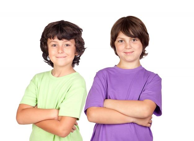 Due bambini divertenti