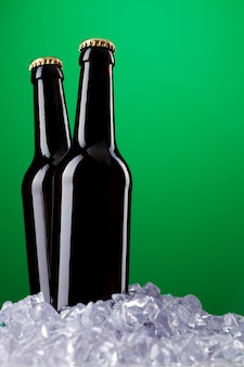 Due bottiglie di birra