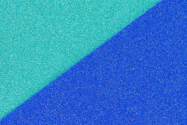 Due superfici colorate disperse