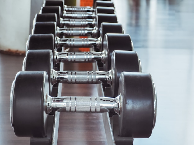 Dumbbell in palestra