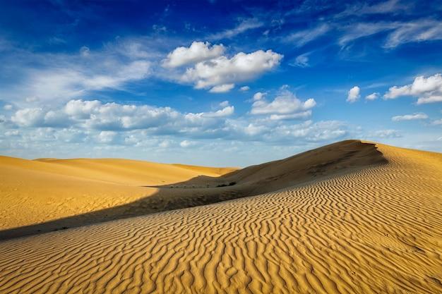 Dune di sabbia nel deserto