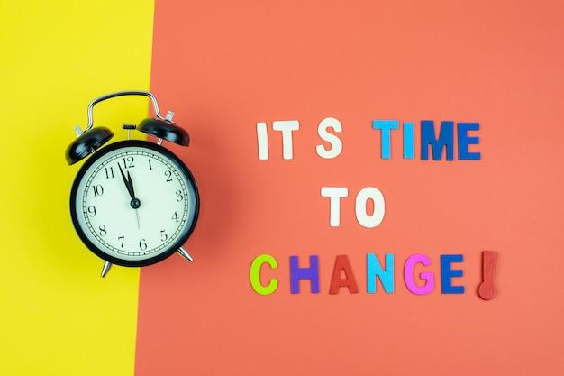È tempo di cambiare la formulazione