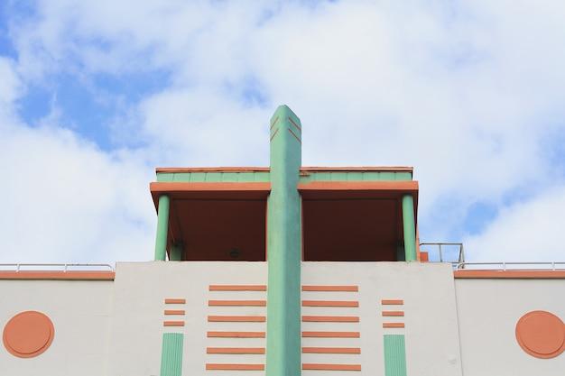Edifici art deco a miami, in florida