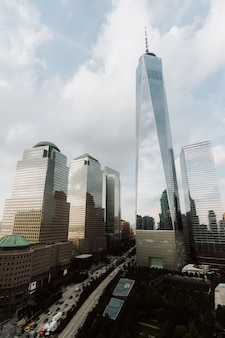 Edifici e grattacieli a new york city