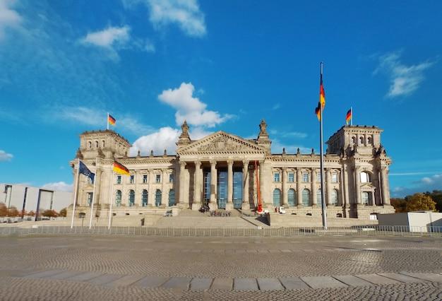 Edificio del reichstag di berlino