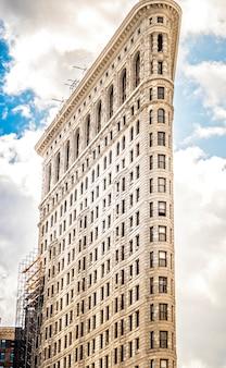 Edificio di ferro da stiro a new york, stati uniti d'america