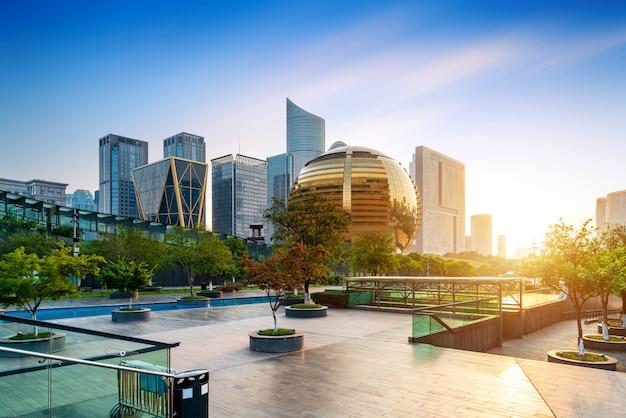 Edificio moderno a hangzhou