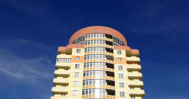 Edificio moderno di appartamenti