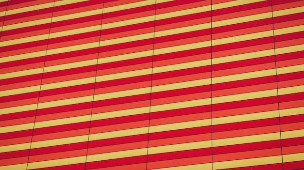 Edificio per uffici colorato