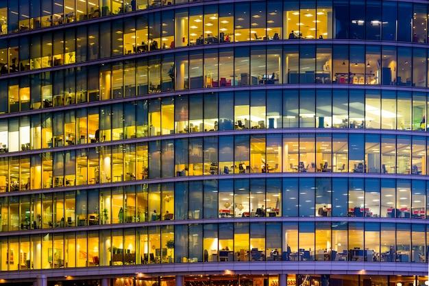 Edificio per uffici commerciali a londra, inghilterra