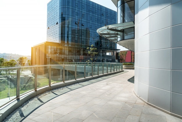 Edificio per uffici moderno in software park, chongqing, cina