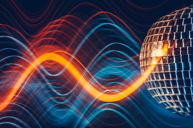 Effetto luce palla da discoteca