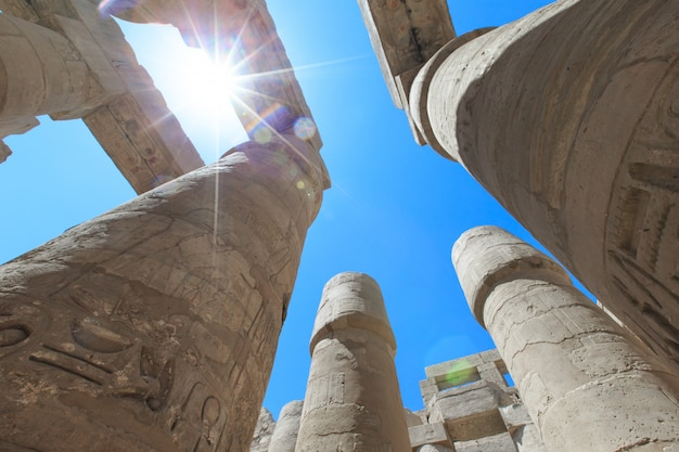 Egitto, luxor, tempio di karnak