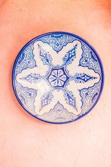 Egitto piatto fondo di ceramica cairo
