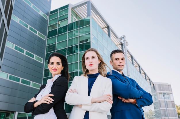 Elegante gruppo di imprese