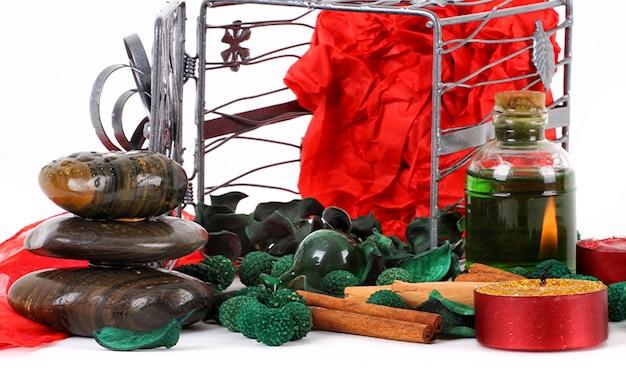 Elementi decorativi di natale