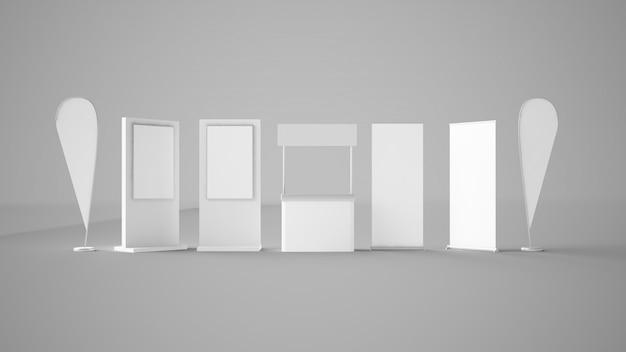 Elementi dello stand espositivo