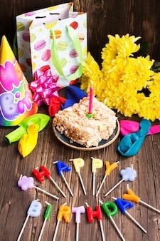 Elementi di festa di compleanno