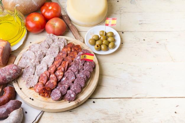 Embutido cibo spagnolo