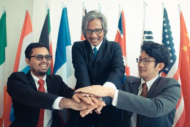 Enterprenours di successo e uomini d'affari