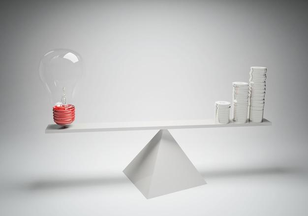 Equilibrio di idee con compensazione
