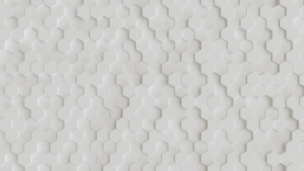 Esagonale astratto sfondo 3d