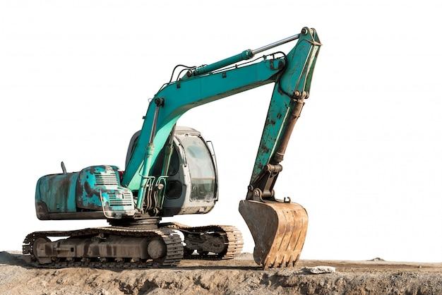 Escavatore a cucchiaia rovescia
