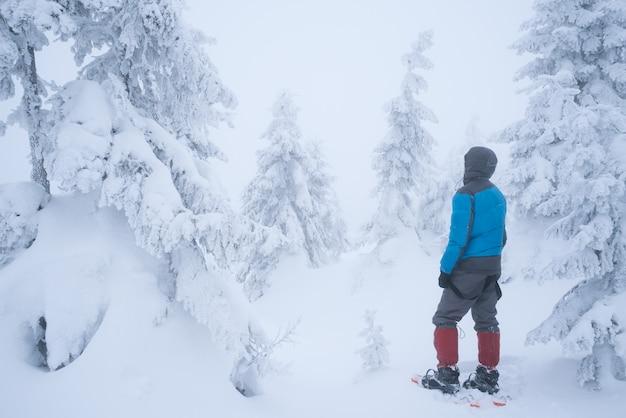 Escursioni in inverno con le ciaspole