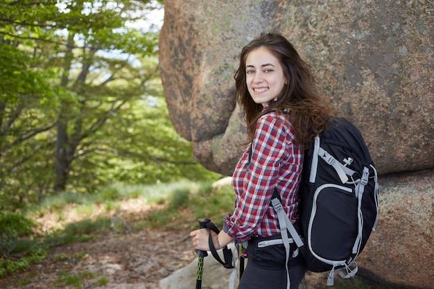 Escursionista donna