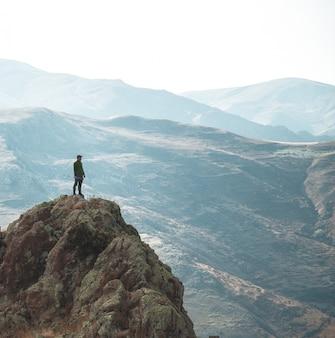 Escursionista solitario