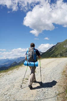 Escursionista uomo
