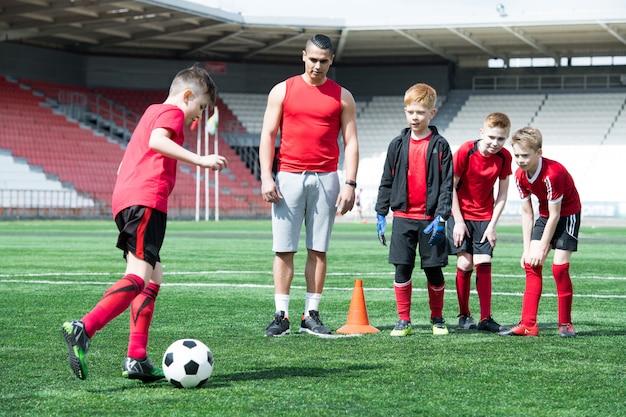 Esercitazione per squadre junior