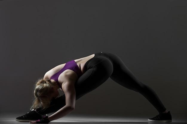 Esercizi di stretching per le gambe