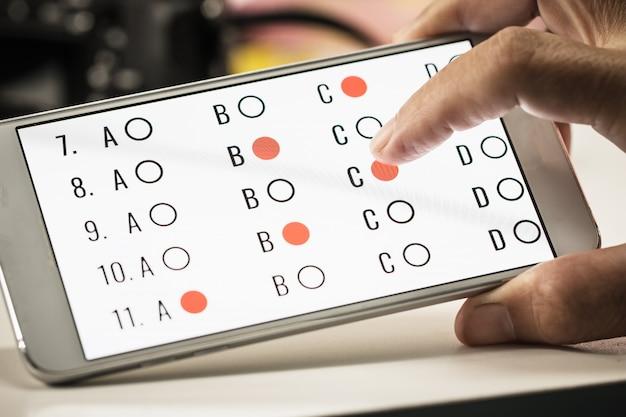 Esercizio di test degli studenti