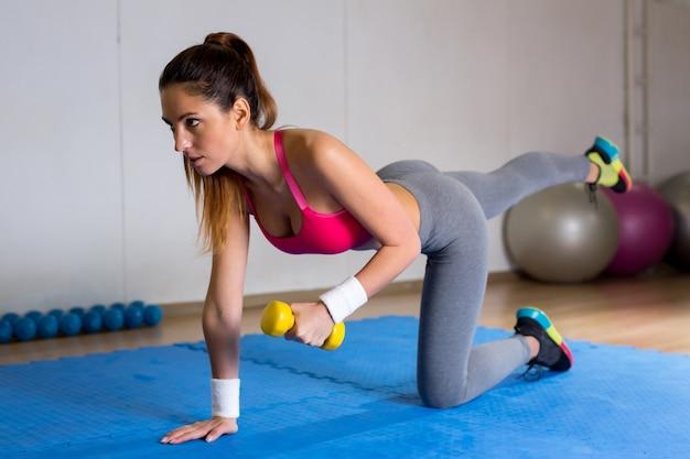 Esercizio sul tappetino
