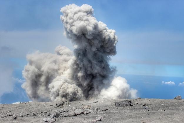 Esplosione di crateri di saloka jonggring