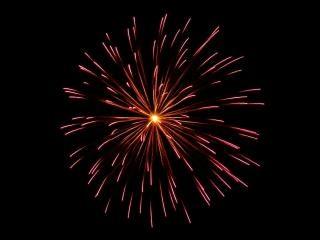 Esplosioni, fuochi d'artificio