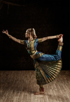 Esponente di danza indiana bharatanatyam