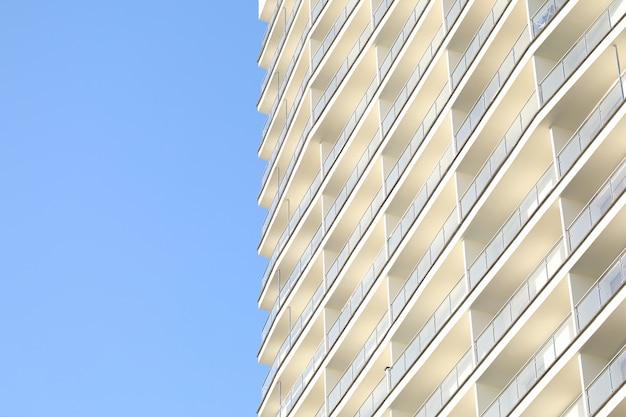 Esterno dell'edificio in città
