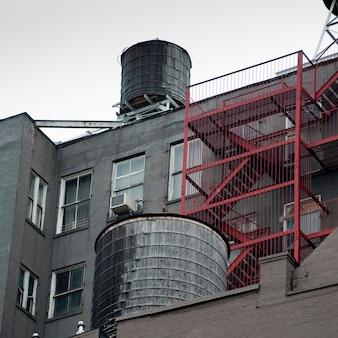 Esterno o edificio a manhattan, new york city, usa