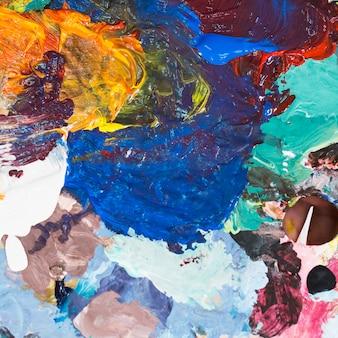 Estratto di colorito sfondo con texture cremosa