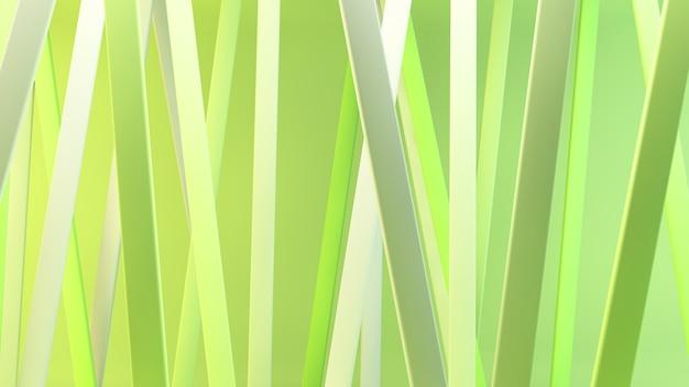 Estratto di linee verdi