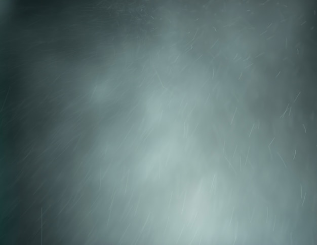Estratto grigio fumo illuminazione e polvere su uno sfondo scuro