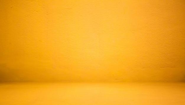 Estratto lussuoso muro giallo bene utilizzare come sfondo, sfondo e layout.