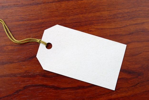 Etichetta da un cartone