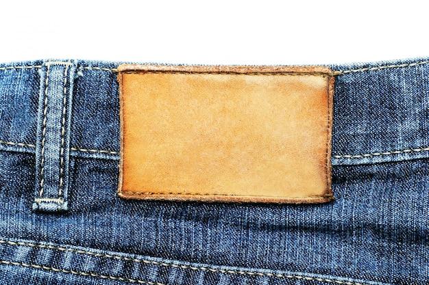 Etichetta jeans