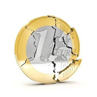 Euro rotto 3d