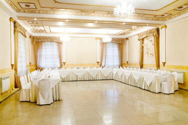 Evento del ristorante banchetto, matrimonio, celebrazione
